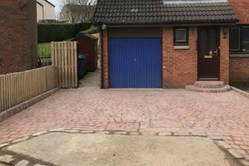 Completed Mono Block Driveway.